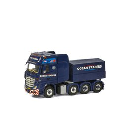 Mercedes-Benz Mercedes-Benz Actros MP4 Giga Space 8x4 + Ballast Box 'Ocean Traders' - 1:50 - WSI Models