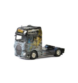DAF DAF XF Super Space Cab Tractor 4x2 'Tom-Tech' - 1:50 - WSI Models