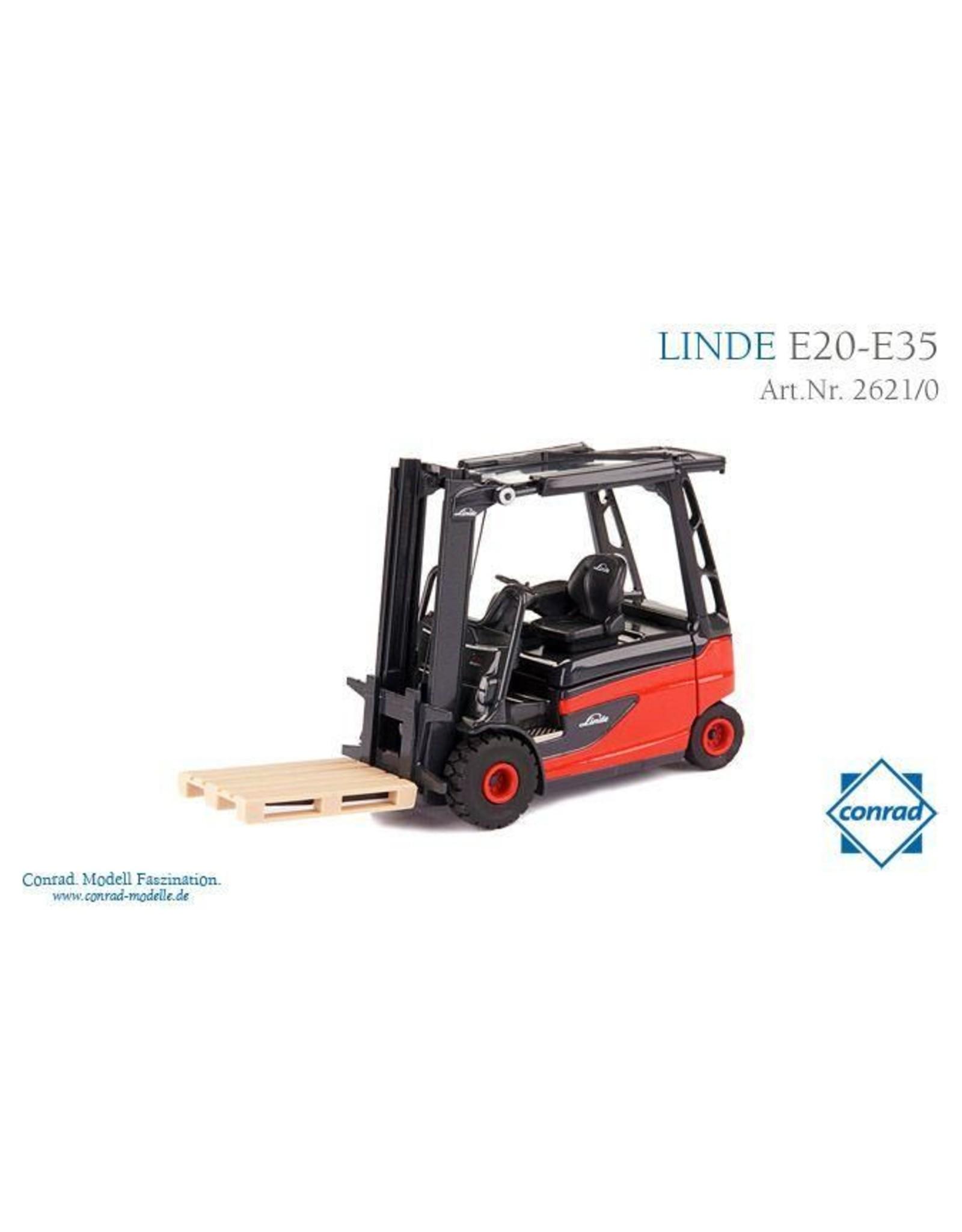 Linde Linde Elektro-Stapler E20 - E35 Roadster - 1:25 - Conrad