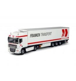 Daf XF105 Space Cab Tractor + Reefer Trailer 'Franken Transport'