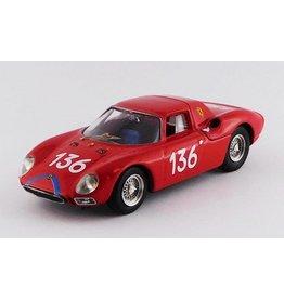 Ferrari Ferrari 250 LM RHD #136 Targa Florio 1965 - 1:43 - Best Model