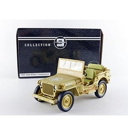 Jeep Jeep Willys 'Casablanca' 1943 - 1:18 - Triple 9 Collection