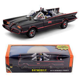 Movie Memorabilia Batmobile + Bendable Figures