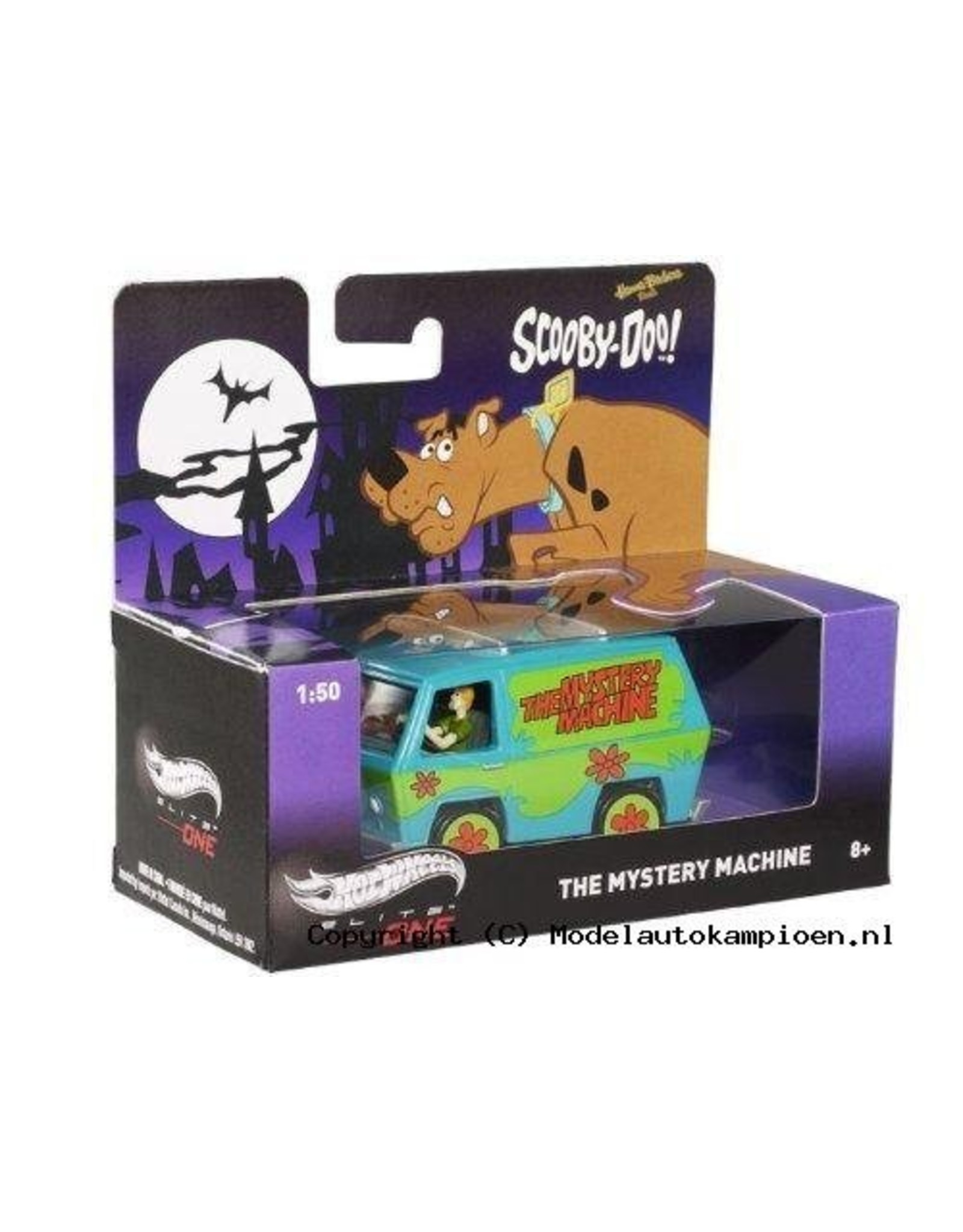 Hotwheels Elite The Mystery Machine 'Scooby-Doo' - 1:50 - Hotwheels Elite
