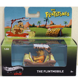Hotwheels Elite The Flintmobile 'The Flintstones' - 1:50 - Hotwheels Elite