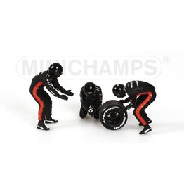 Minichamps Minardi Rear Tyre Change Set 200 - 1:43 - Minichamps