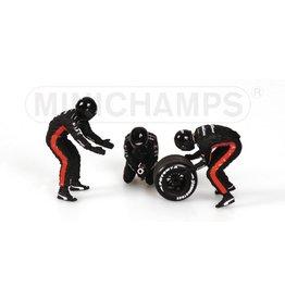 Minichamps Minardi Rear Tyre Change Set 2003