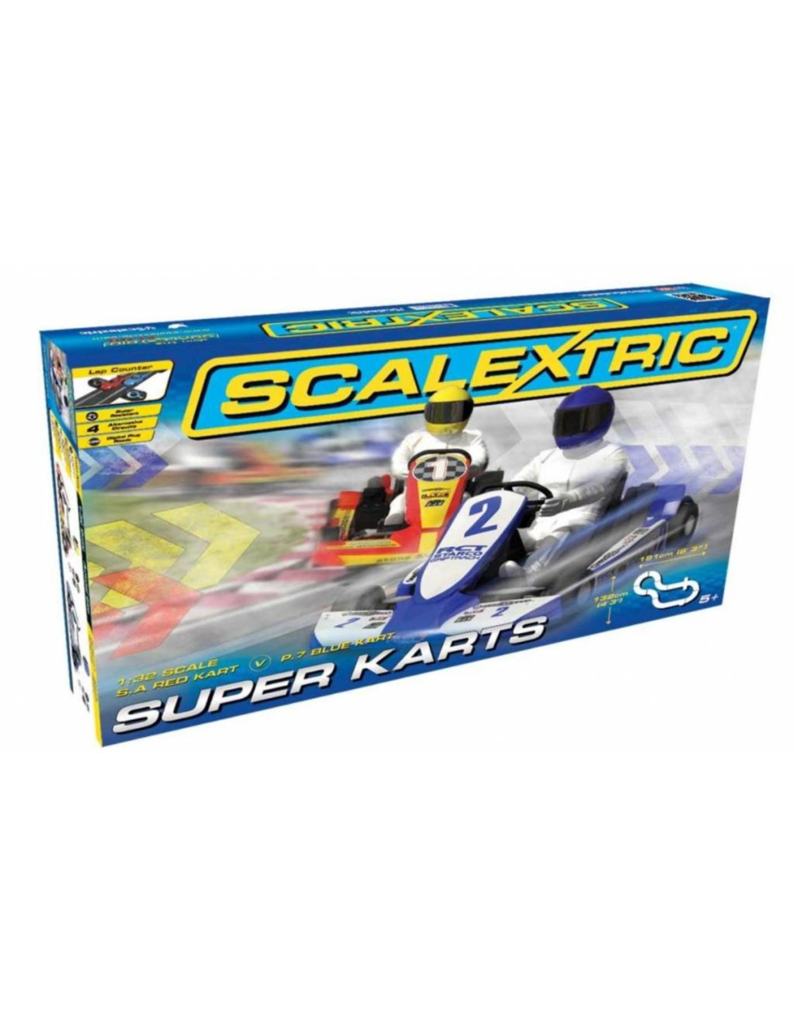 Super karts Scalextric Super Karts - 1:32-
