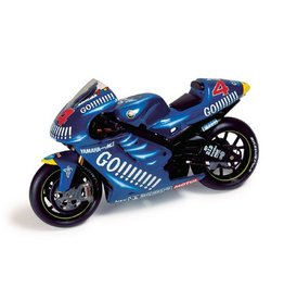 Yamaha Yamaha YZR-M1 #4 A. Barros MotoGP 2003 - 1:24 - IXO Models