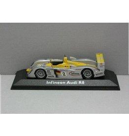 Audi Audi Infineon R8 #2 -1:43 - Minichamps
