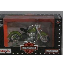 Harley Davidson Harley Davidson 1953 74FL Hydra Glide - 1:18 - Maisto