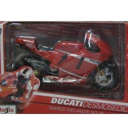 Ducati Ducati Desmosedici M. Melandri - 1:10 - Maisto
