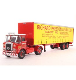 Atkinson Atkinson Borderer + Tautliner Trailer 'Richard Preston & Son Ltd' - 1:50 - Corgi