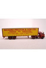 Atkinson Atkinson Borderer + Tautliner Trailer 'Richard Preston & Son Ltd' - 1:50 - Corgi