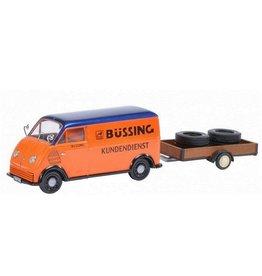 DKW DKW Schnellaster + Anhanger 'Bussing' - 1:43 - Schuco