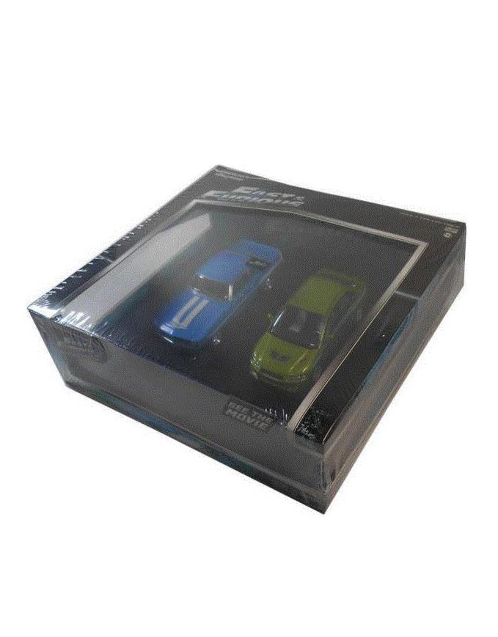 Movie Memorabilia Movie Memorabilia Fast and Furious Set: Chevrolet + Mitsubishi - 1:43 - Greenlight