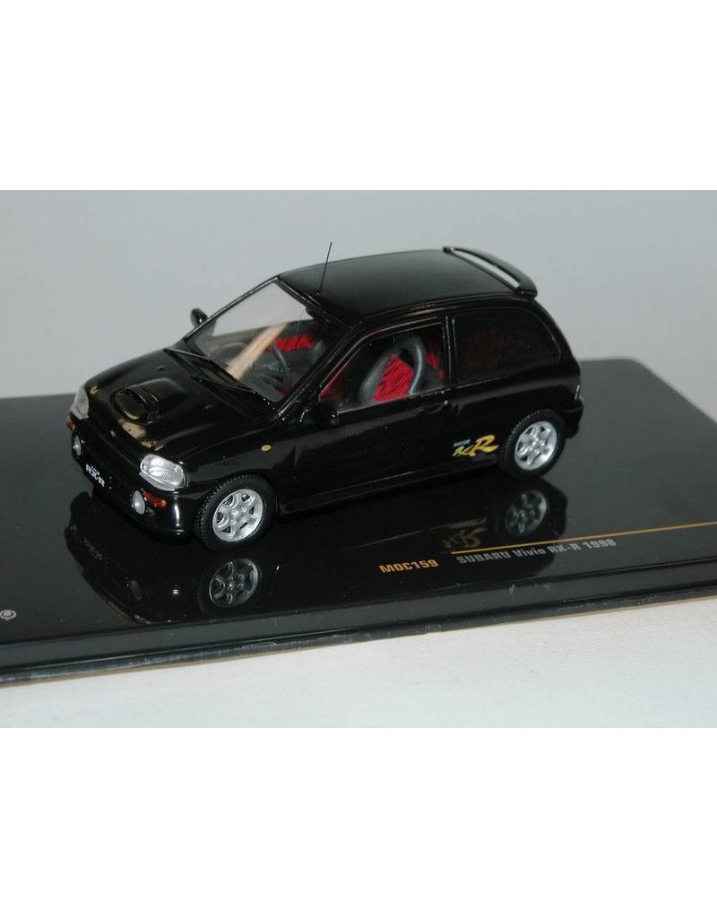 1:43 Ixo Subaru Vivio RX-R 1998 black