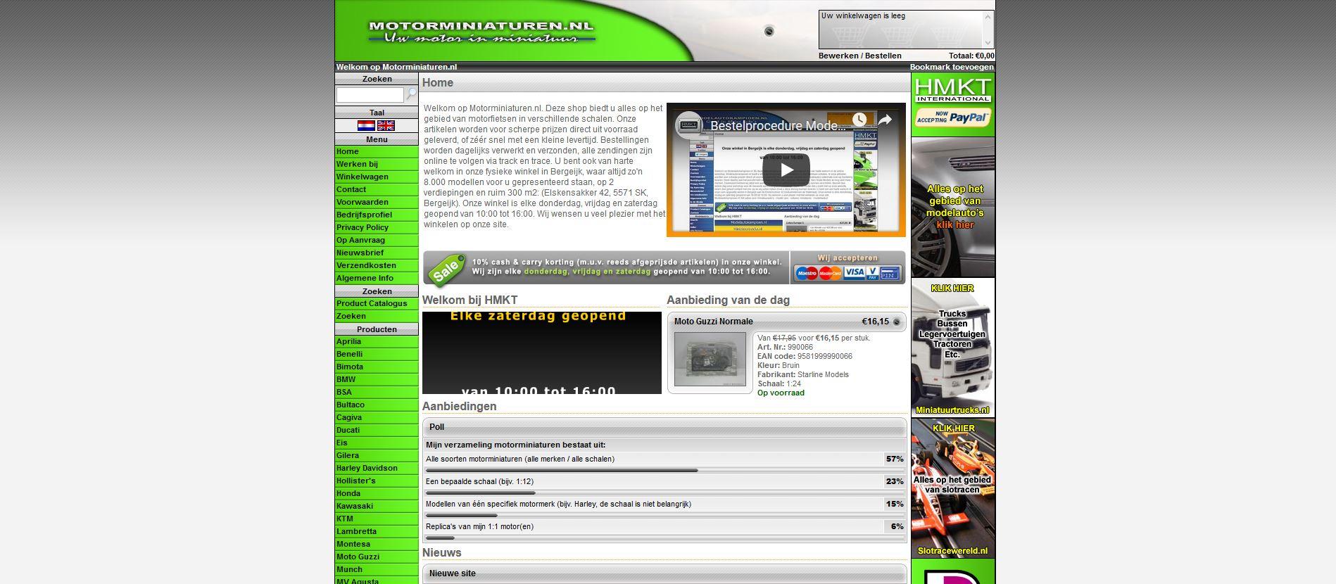 Motorminiaturen site
