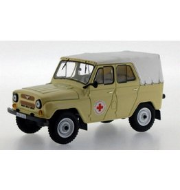 UAZ UAZ 469 BG Russian Medical Services 1977 - 1:43 - IST Models