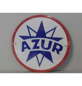 Blikken bord Blikken Bord Azur (21 cm x 21 cm)