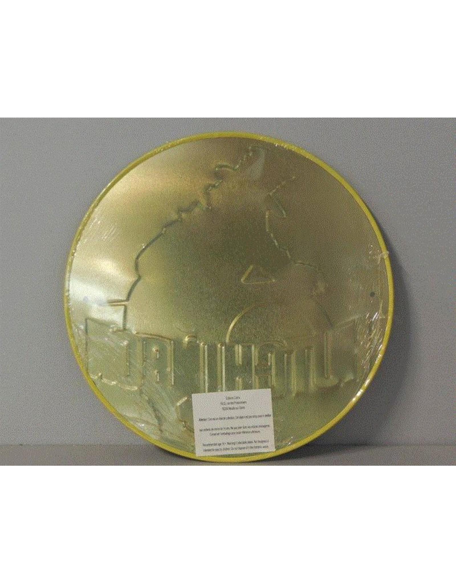 Blikken bord Tin Plate Hutchinson (21 cm x 21 cm)