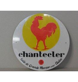 Blikken bord Chantecler (21 cm x 21 cm)