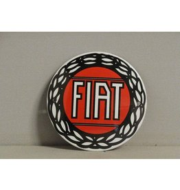 Emaille Bord Fiat (10 cm)