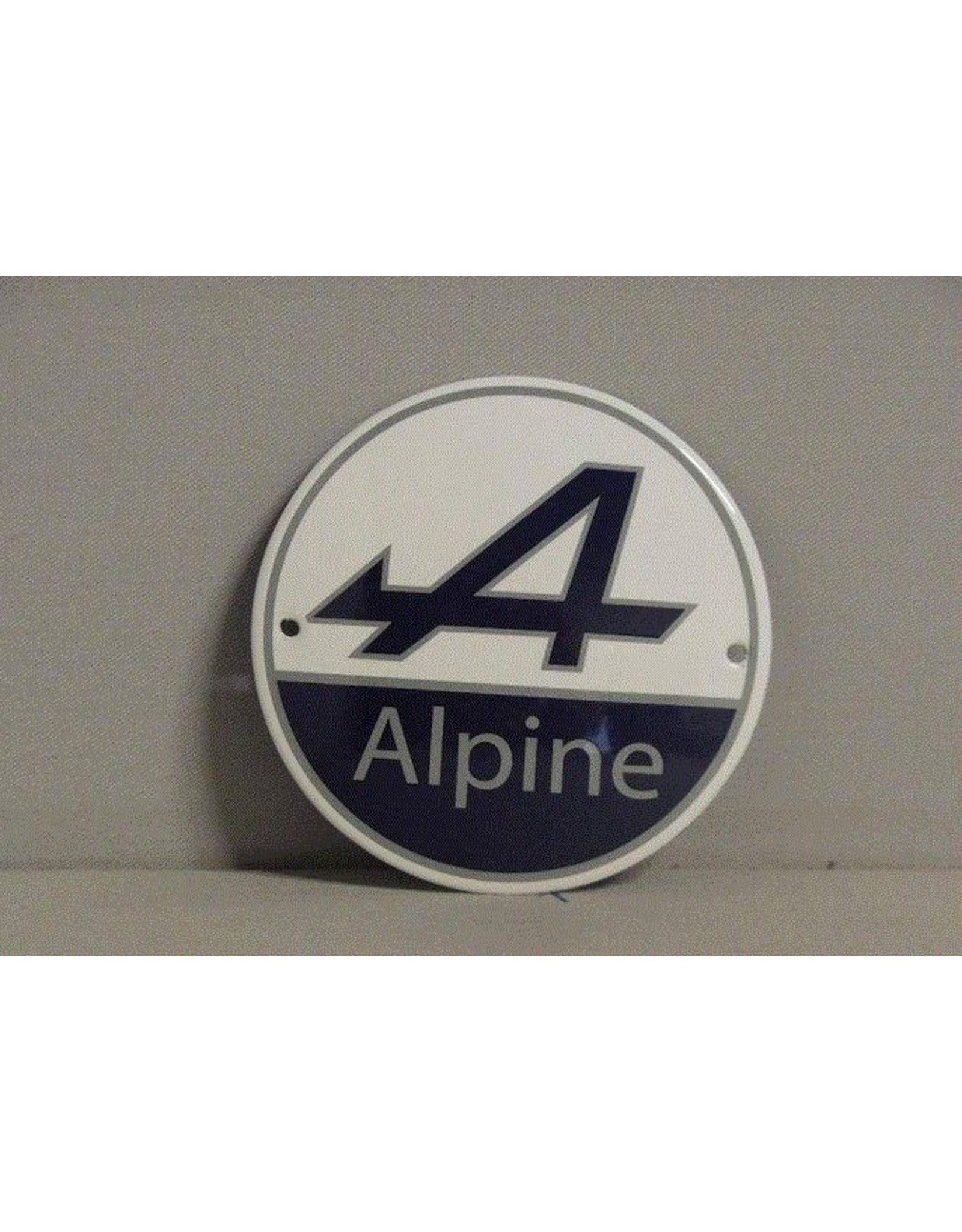 Emaille Bord Enamel Plate Alpine (10 cm)