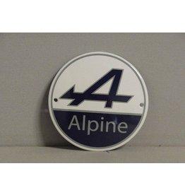 Emaille Bord Alpine (10 cm)