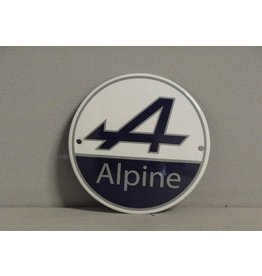 Emaille Bord Emaille Bord Alpine (10 cm)