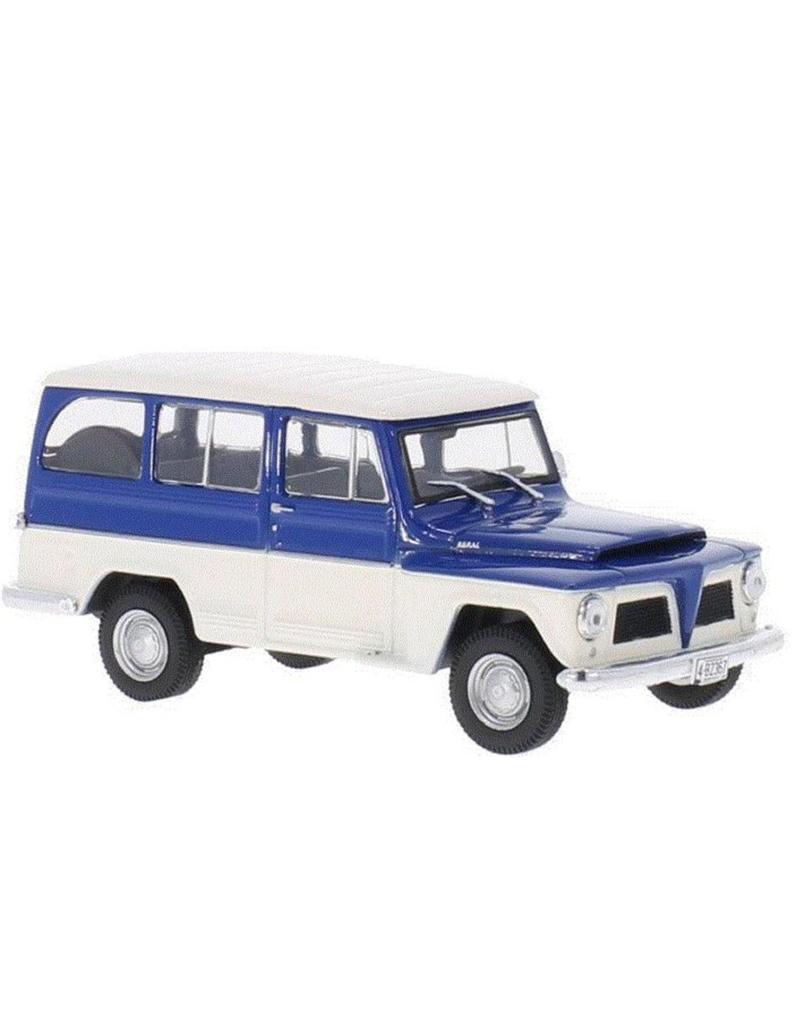 Willys-Overland Willys-Overland Rural 1968 - 1:43 - Whitebox