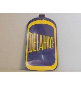 Blikken bord Delahaye (16 cm x 28 cm)