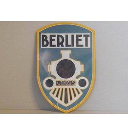 Blikken bord Blikken Bord Berliet Automobiles (18 cm x 28 cm)