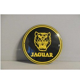 Emaille Bord Emaille Bord Jaguar (10 cm)