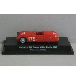 Cisitalia Cisitalia 202 Spyder #179 Mille Miglia 1947 - 1:43 - Starline Models