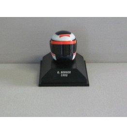 Helm Helmet Bieffe Helmet G. Berger 1995 - 1:8 - Minichamps