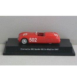 Cisitalia Cisitalia 202 Spyder #502 Mille Miglia 1947 - 1:43 - Starline Models