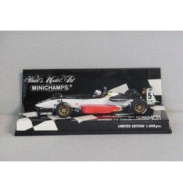 Dallara Dallara Mugen Honda F301 A. Davidson Runner-UP British F3 Championship #5 - 1:43 - Minichamps