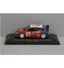 Citroen Citroen Xsara WRC #18 San Remo Rally 2003 - 1:43 - IXO Models