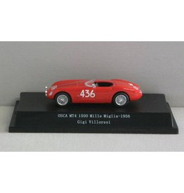 Osca Osca MT4 1500 #436 Mille Miglia 1956 - 1:43 - Starline Models