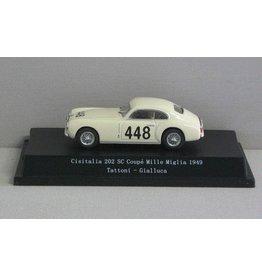 Cisitalia Cisitalia 202 SC Coupé #448 Mille Miglia 1949 - 1:43 - Starline Models