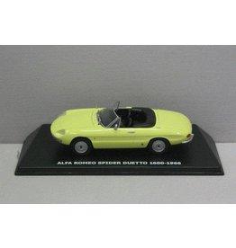 Alfa Romeo Alfa Romeo Spider 1600 Duetto 1966 - 1:43 - Maxi Car
