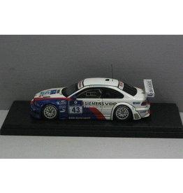 BMW BMW M3 GTR Nurburgring 2004 #43 - 1:43 - Loron Models