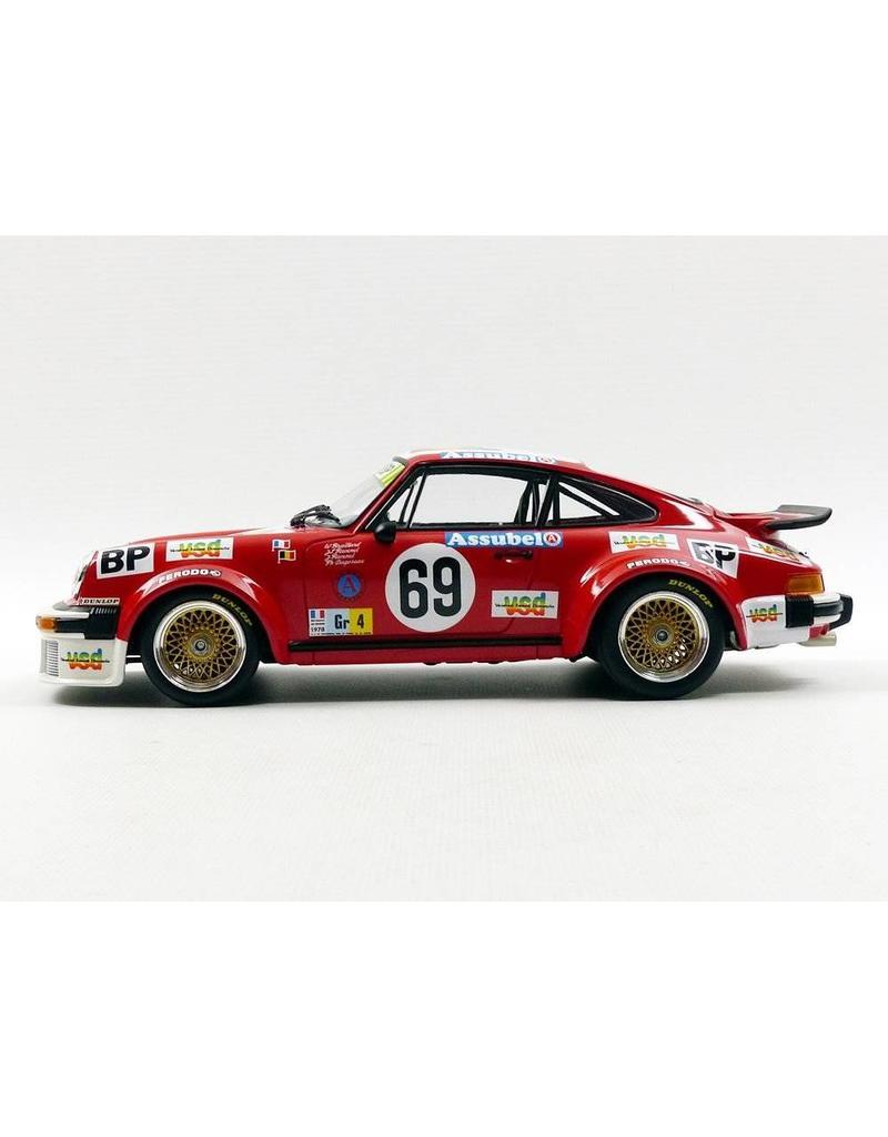 Porsche Porsche 934 VSD #69 24H Le Mans 1978 - 1:18 - Minichamps
