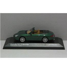 Porsche Porsche 911 Cabriolet 2001 - 1:43 - Minichamps