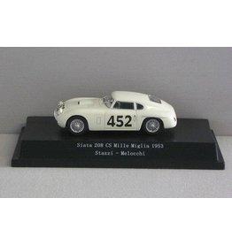 Siata Siata 208 CS #452 Mille Miglia 1953 - 1:43 - Starline Models