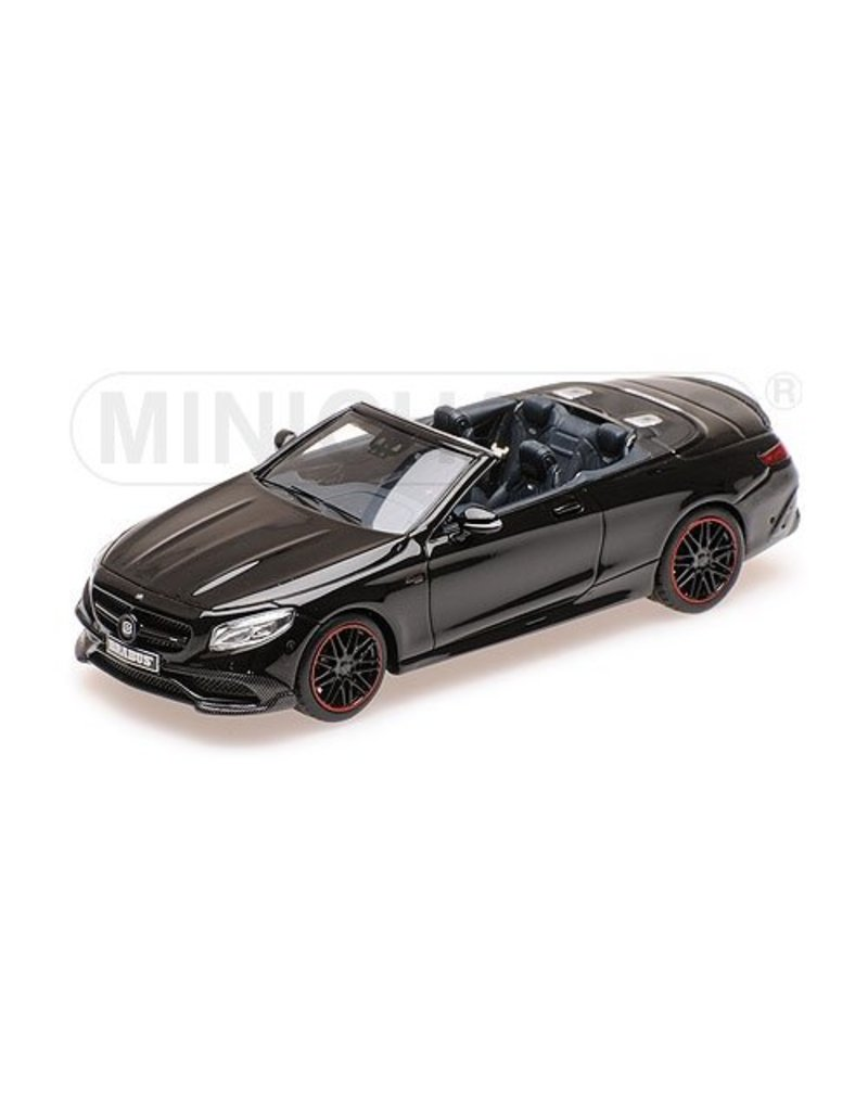 Brabus Brabus 850 Mercedes-AMG S 63 S-class Cabriolet 2016 - 1:43 - Minichamps