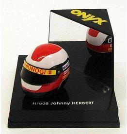 Helm Helmet Johnny Herbert - 1:12 - Onyx