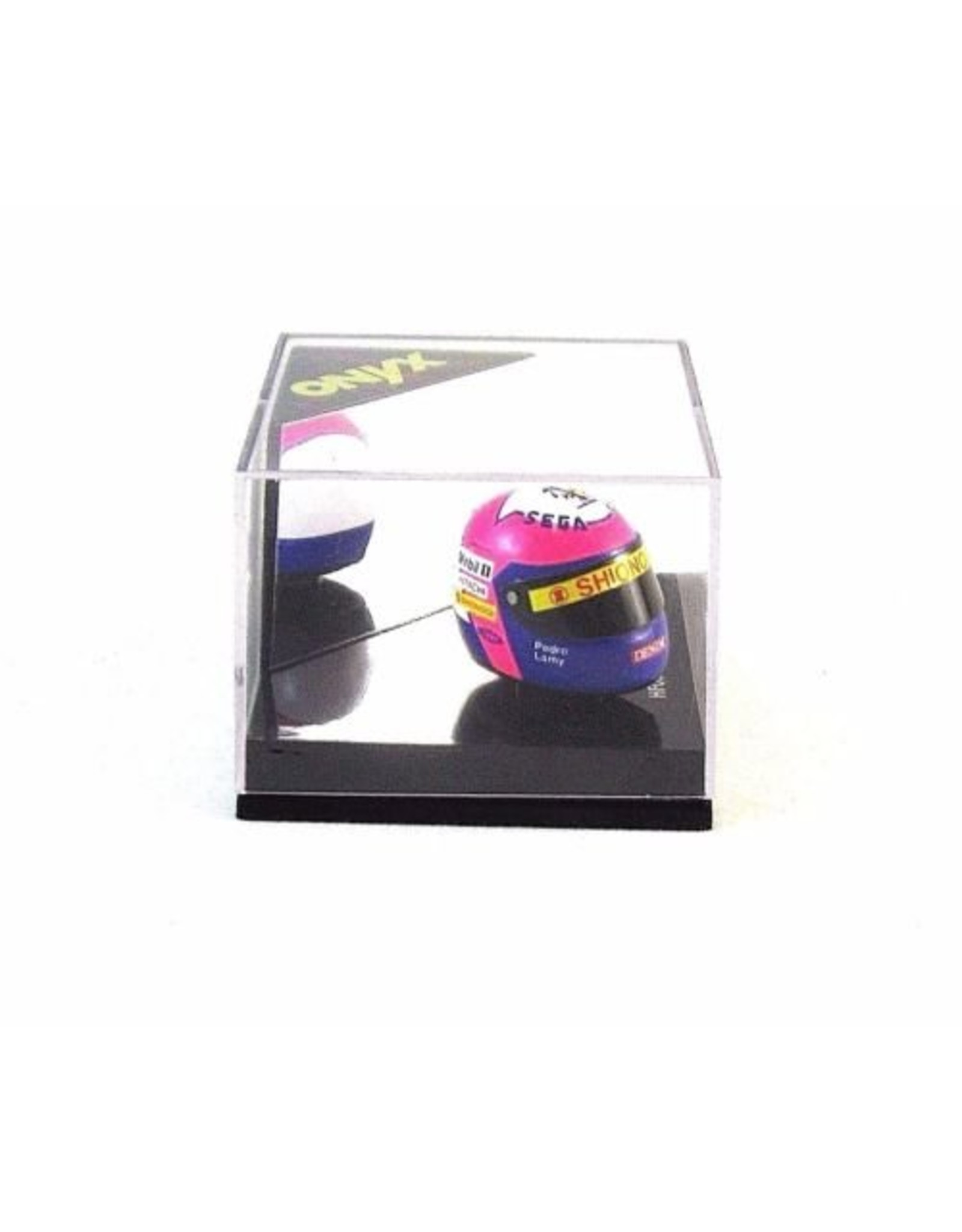 Helm Helmet Pedro Lamy - 1:12 - Onyx
