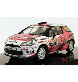 Citroen Citroën DS3 R3 #100 Rally Monte Carlo IRC 2011 - 1:43 - IXO Models